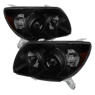 ( xTune ) Toyota 4Runner 06-09 Crystal Headlights - Black Smoked