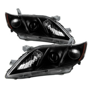( xTune ) Toyota Camry 07-09 ( US Built Models Only  Does Not Fit Hybrid Models ) OEM Style headlights - Black