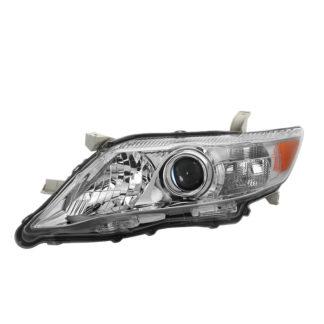 ( OE ) Toyota Camry 10-11 Driver Side Headlights – OEM Chrome Left  U.S. Built (Not Fit SE Model.)