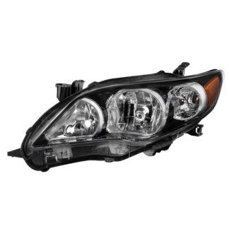 ( OE ) Toyota Corolla 11-13 S XRS Driver Side Headlights – OEM Left – Black (U.S. Built)