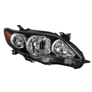 ( OE ) Toyota Corolla 11-13 S XRS Passenger Side Headlights – OEM Right – Black (U.S. Built)