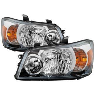 ( OE ) Toyota Highlander 04-06 ( 2006 excluding Hybrid Models ) OEM Style Headlights – Chrome