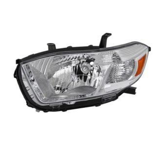 ( OE ) Toyota Highlander 2008-2010 ( Don't Fit Hybrid or Sport Models ) Driver Side Headlights -OEM Left