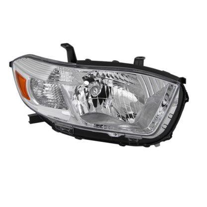 ( OE ) Toyota Highlander 2008-2010 ( Don't Fit Hybrid or Sport Models ) Passenger Side Headlight -OEM Right