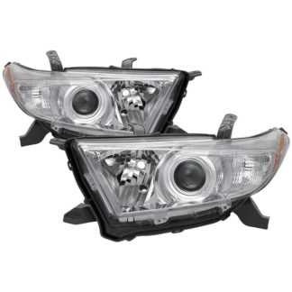 ( OE ) Toyota Highlander 2011-2013 US Built Models Only ( Don't Fit Hybrid Models ) OEM Style Headlight -Chrome