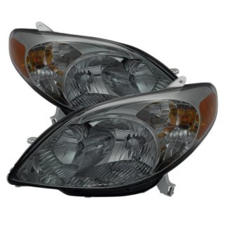 ( xTune ) Toyota Matrix 03-08 Crystal Headlights - Smoke
