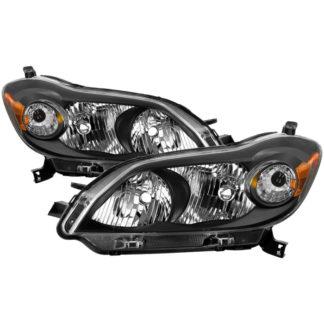 ( xTune ) Toyota Matrix 2009-2013 OEM Style Headlights - Black