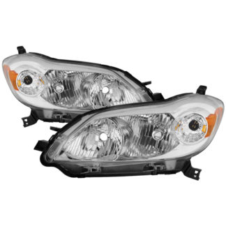 ( OE ) Toyota Matrix 2009-2013 OEM Style Headlights - Chrome