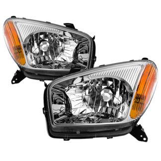 ( OE ) Toyota RAV4 2001-2003 OEM Style Headlights - Chrome