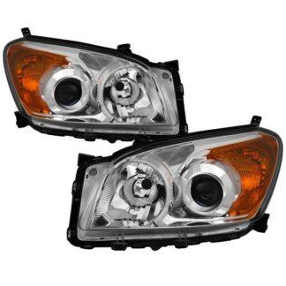 ( OE ) Toyota RAV4 2009-2012 OEM Style Headlights - Chrome