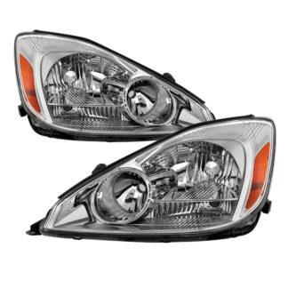 ( OE ) Toyota Sienna 2004-2005 Halogen only OEM Style Headlights - Chrome