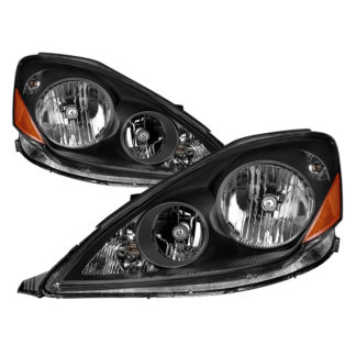 ( xTune ) Toyota Sienna Halogen Models Only 2006-2010 ( Don't Fit HID Models ) OEM Style Headlights - Black