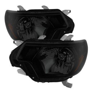 ( xTune ) Toyota Tacoma 2012-2015 OEM Style headlights - Black Smoked