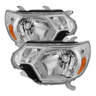 ( OE ) Toyota Tacoma 2012-2015 OEM Style headlights - Chrome