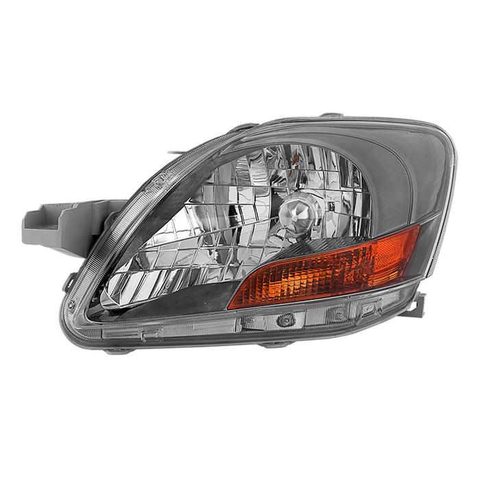 ( OE ) Toyota Yaris Sedan 06-12 ( Don't Fit 09-12 S Models ) Driver Side Headlight -OEM Left