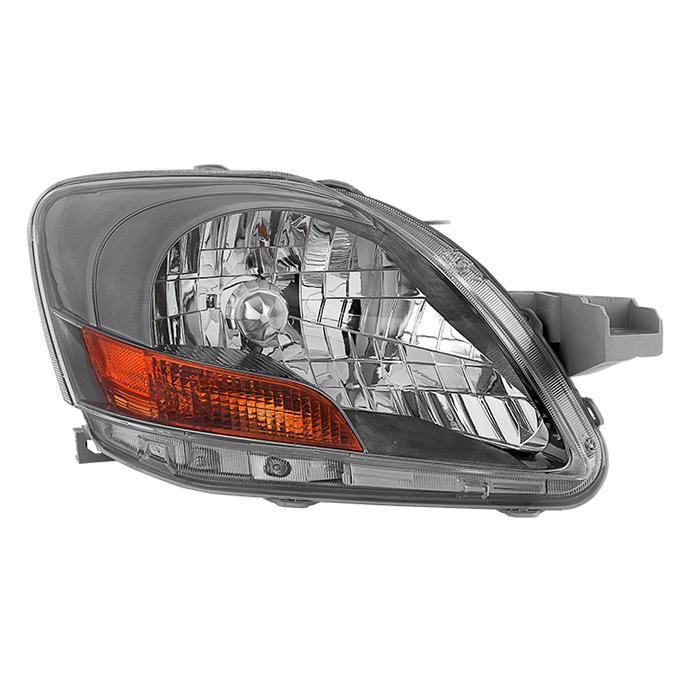 ( OE ) Toyota Yaris Sedan 06-12 ( Don't Fit 09-12 S Models ) Passenger Side Headlight -OEM Right