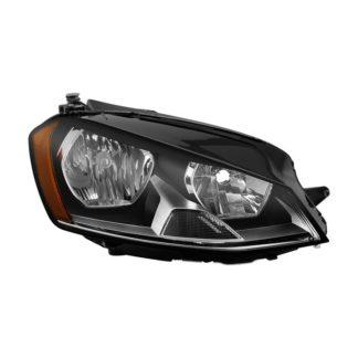 ( OE ) VW Golf 7 15-17 Halogen Passenger Side Headlight - OEM Right