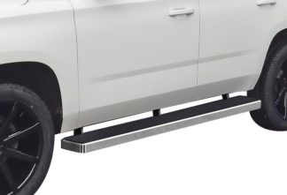 iStep 6 Inch Running Board 2000-2018 GMC Yukon 1500   Hairline Finish