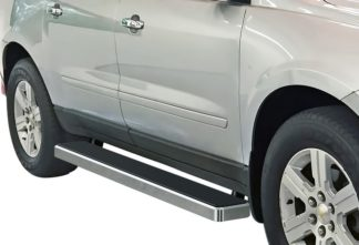 iStep 6 Inch Running Board 2007-2010 Saturn Outlook   Hairline Finish