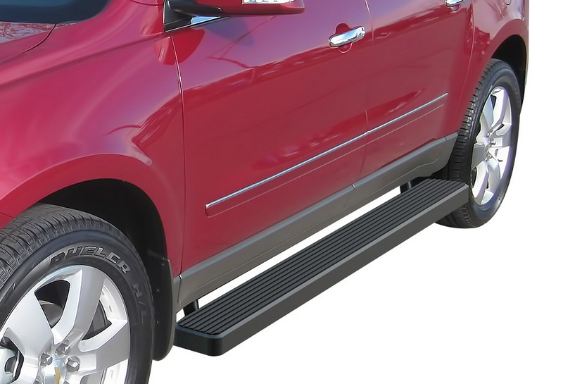 iStep 6 Inch Running Board 2007-2010 Saturn Outlook   Black Finish