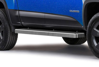 iStep 6 Inch Running Board 2015-2018 GMC Canyon Crew Cab  Hairline Finish