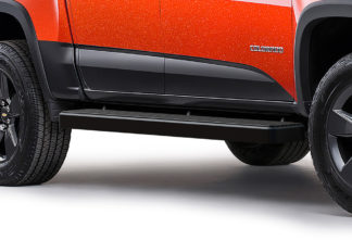 iStep 6 Inch Running Board 2015-2018 GMC Canyon Crew Cab Black Finish