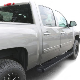 iStep 6 Inch Running Board 2001-2014 GMC Sierra 3500 Crew Cab  Black Finish
