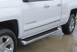 iRunning Board 6 Inch 2007-2018 Chevy Silverado 3500 Double Cab Polish