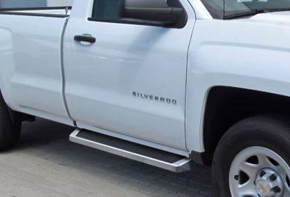 iRunning Board 6 Inch 2007-2018 Chevy Silverado 3500 Regular Cab  Polish