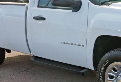 iRunning Board 6 Inch 2001-2007 Chevy Silverado 2500 Regular Cab  Black