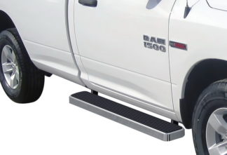 iStep 6 Inch Running Board 2010-2018 Dodge Ram 5500 Regular Cab  Hairline Finish