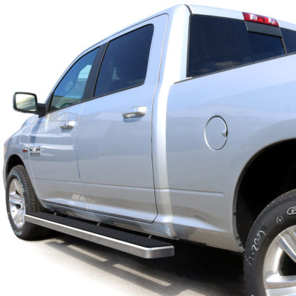 iStep 6 Inch Running Board 2010-2018 Dodge Ram 5500 Crew Cab  Hairline Finish