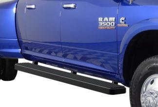 iStep 6 Inch Running Board 2010-2018 Dodge Ram 3500 Mega Cab  Black Finish