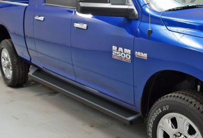 iRunning Board 6 Inch 2010-2018 Dodge Ram 3500 Mega Cab  Black