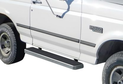 iStep 6 Inch Running Board 1980-1996 Ford F-Series Regular Cab  Hairline Finish