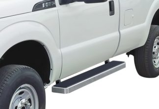 iStep 6 Inch Running Board 1999-2016 Ford F-550 SD Regular Cab  Hairline Finish