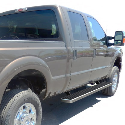 iStep 6 Inch Running Board 1999-2016 Ford F-550 SD Crew Cab  Hairline Finish