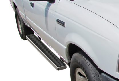 iStep 6 Inch Running Board 1999-2011 Mazda B-Series Super Cab  Hairline Finish