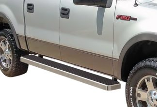 iStep 6 Inch Running Board 2004-2008 Ford F-150 Supercrew Cab Hairline Finish