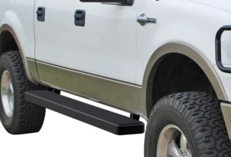 iStep 6 Inch Running Board 2004-2008 Ford F-150 SuperCrew Cab  Black Finish