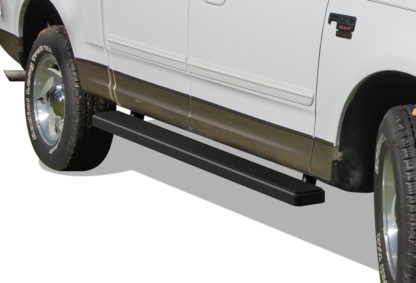 iStep 6 Inch Running Board 2001-2003 Ford F-150 SuperCrew Cab Black Finish