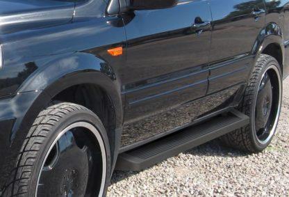 iRunning Board 6 Inch 2003-2008 Honda Pilot   Black