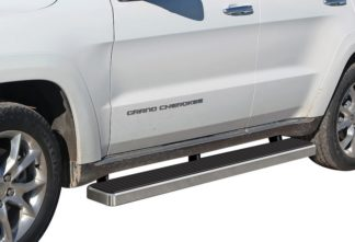 iStep 6 Inch Running Board 2011-2018 Jeep Grand Cherokee   Hairline Finish