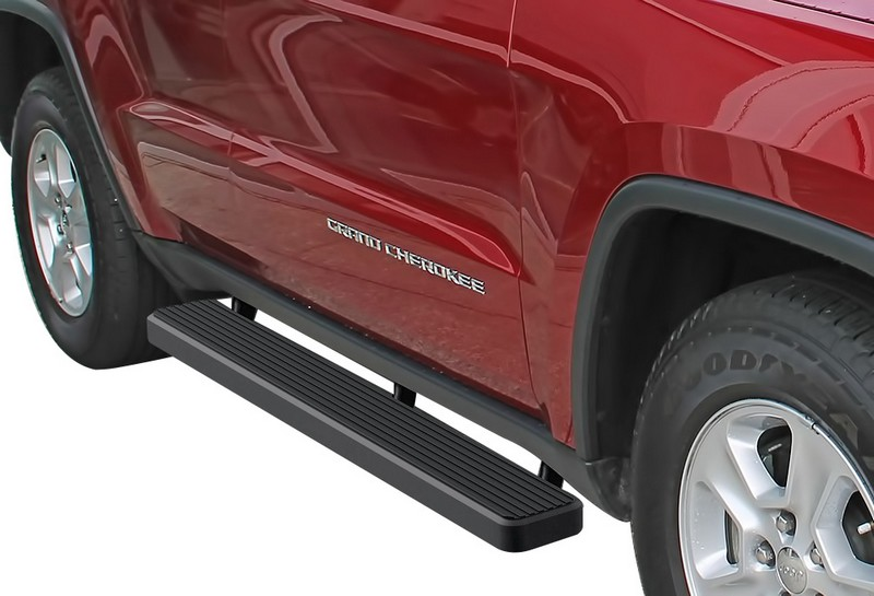 iStep 6 Inch Running Board 2011-2018 Jeep Grand Cherokee   Black Finish