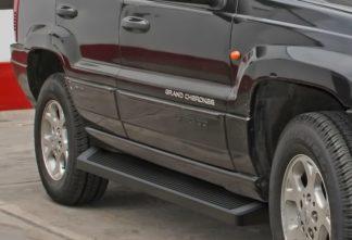 iRunning Board 6 Inch 1999-2004 Jeep Grand Cherokee Laredo Black