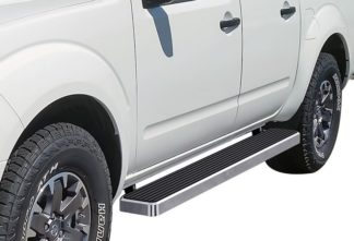 iStep 6 Inch Running Board 2005-2018 Nissan Frontier Crew Cab  Hairline Finish