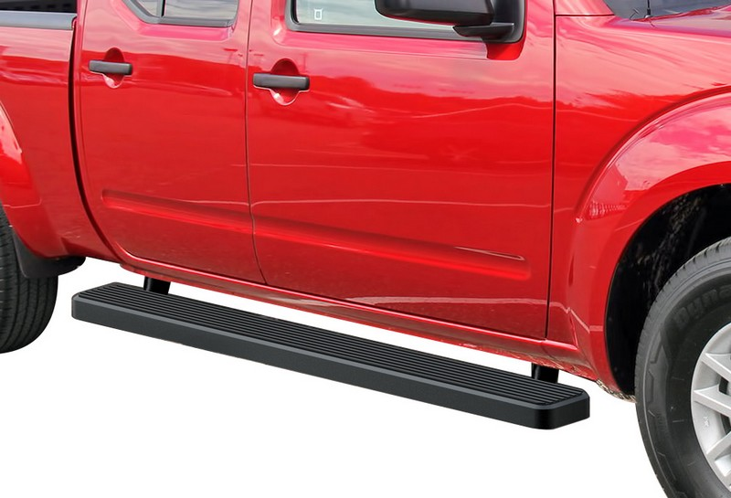 Istep 6 Inch Running Board 2005 2018 Nissan Frontier Crew Cab Black