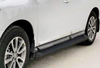 iRunning Board 6 Inch 2005-2012 Nissan Pathfinder   Black