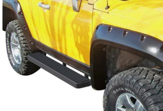 iStep 6 Inch Running Board 2007-2014 Toyota FJ Cruiser Black Finish