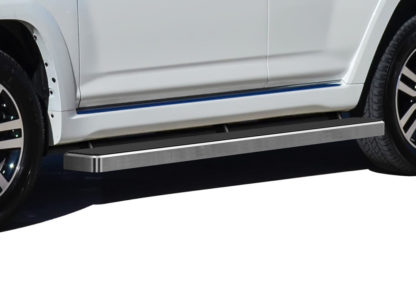 iStep 6 Inch Running Board 2010-2013 Toyota 4 Runner SR5  Hairline Finish